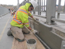 2011 — Overlander Bridge — Sidewalk Repairs