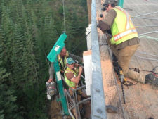 Old Kiskatinaw Bridge — Guardrail Support Replacement