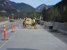Trout River Bridge — Approach Slab Rehab 2
