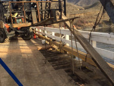 Walhachin Bridge — Timber Decking Replacement